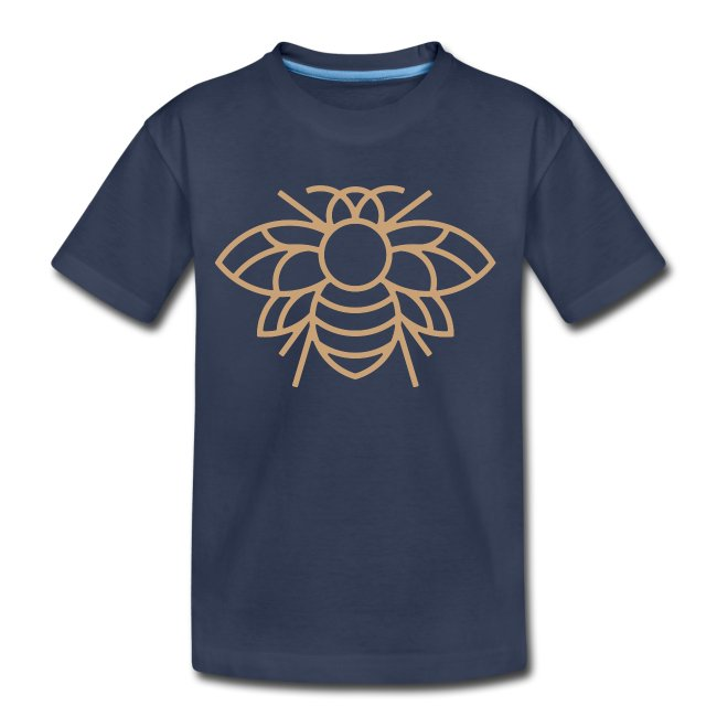 Golden Bee Kids Tee