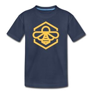 Yellow Bee Kids Tee - Kids' Premium T-Shirt