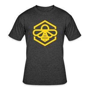 Yellow Bee Tee - Men's 50/50 T-Shirt