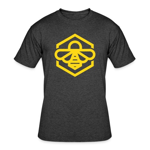 Yellow Bee Tee - Men's 50/50 T-Shirt