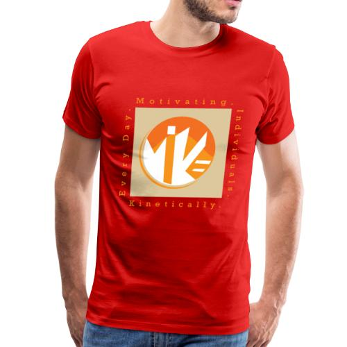 M.I.K.E Adult T-Shirt - Men's Premium T-Shirt