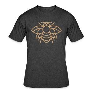Golden Bee Tee - Men's 50/50 T-Shirt
