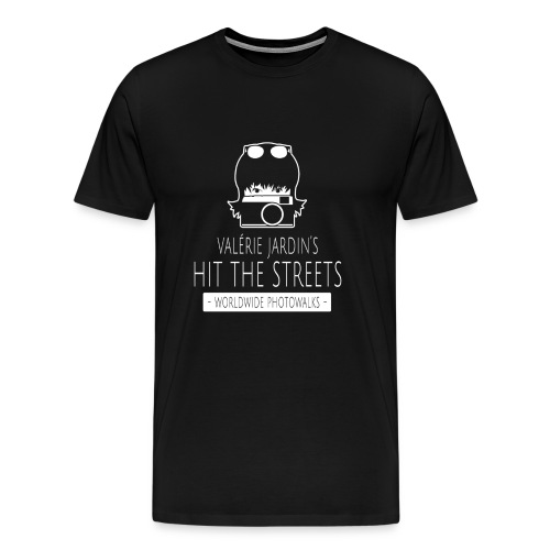 Valerie Jardin's HTS WW Photowalks men's tshirt - Men's Premium T-Shirt