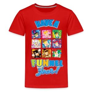 Have a FUNnel Year (KIDS) T SHIRT - Kids' Premium T-Shirt