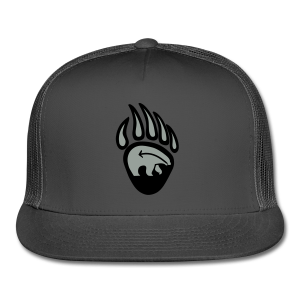Tribal Bear Claw Cap First Nations Art Hat  - Trucker Cap