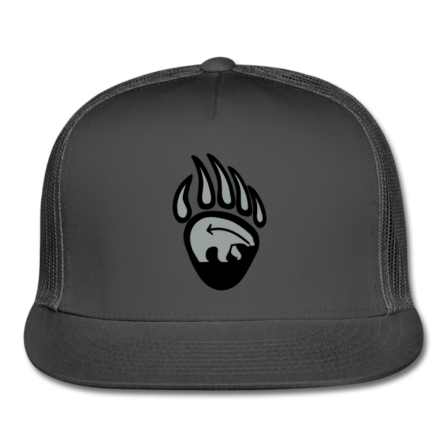 Tribal Bear Claw Cap First Nations Art Hat