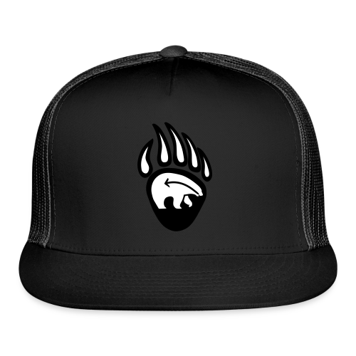 Tribal Bear Claw Cap First Nations Art Hat  - Trucker Cap