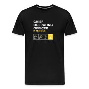 Men's: Chief Operating Officer in Training - Men's Premium T-Shirt