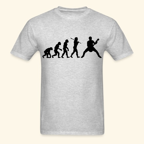 Evolution of guitar - Men's T-Shirt