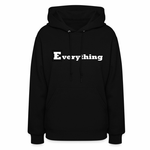 Everything x Wild Designs Hoodie -  Black Edition - Women's Hoodie