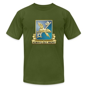 MI Regimental Insignia - Men's Fine Jersey T-Shirt