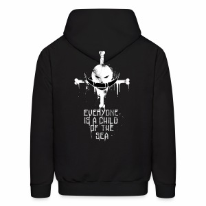 Everyone is a Child of the Sea x Wild Designs - Black Edition - Men's Hoodie