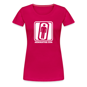 MENINATUB DOT COM WOMEN'S - Women's Premium T-Shirt