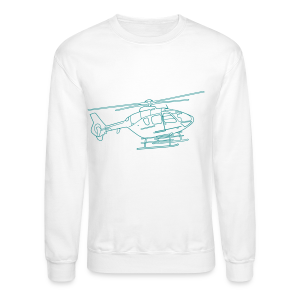 Helicopter - Crewneck Sweatshirt