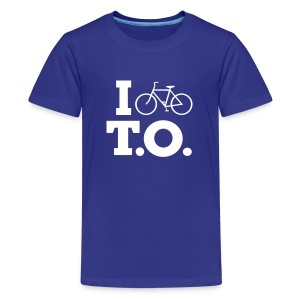 Youth I Bike T.O. Shirt - Kids' Premium T-Shirt