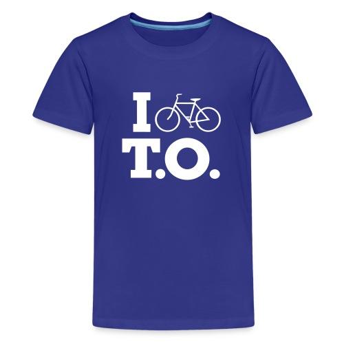 Youth I Bike T.O. Shirt - Kids' Premium T-Shirt