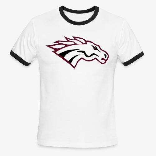Ringer T-Shirt_White  - Men's Ringer T-Shirt