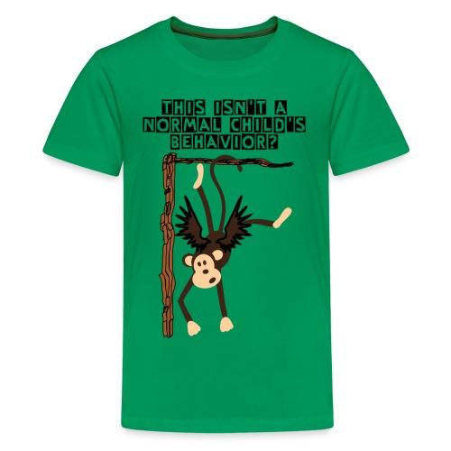 Crazy Flying Monkey Kid's Premium Tee - Kids' Premium T-Shirt
