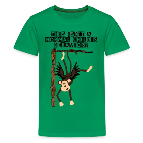 Crazy Flying Monkey Kid's Premium Tee - Kids' Premium T-Shirt