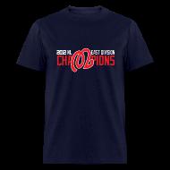 T-Shirts ~ Men's T-Shirt ~ 2012 Nats NL East Champions