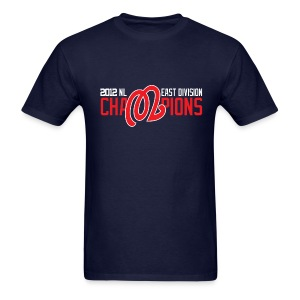 2012 Nats NL East Champions - Men's T-Shirt