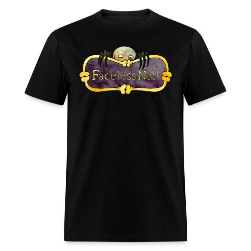 Faceless Neil Logo T-shirt - Men's T-Shirt