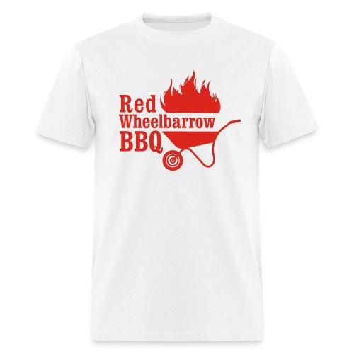 Red Wheelbarrow BBQ - Men's T-Shirt