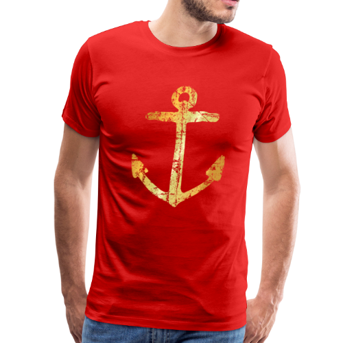 Anchor T-Shirt (Ancient Gold) - Men's Premium T-Shirt