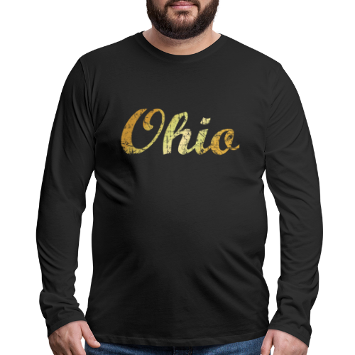 Ohio Sweatshirt (Ancient Gold) - Men's Premium Long Sleeve T-Shirt