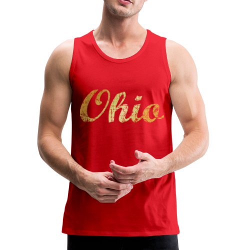 Ohio Tank Top (Ancient Gold) - Men's Premium Tank