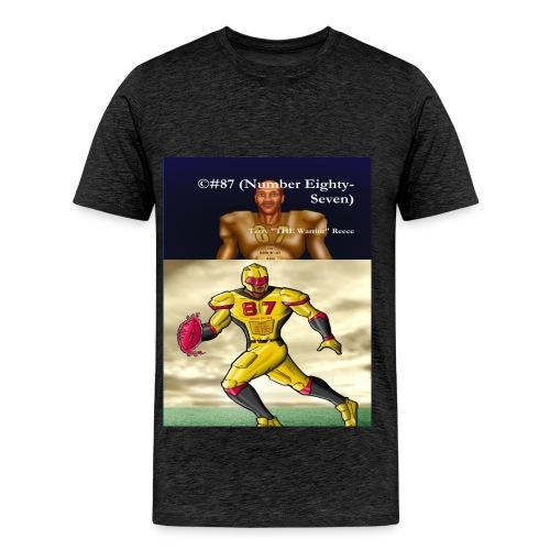 #87 Front Page Comics Novel Active Wear Tee Shirt - Men's Premium T-Shirt