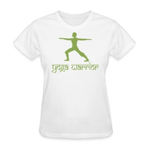 Yoga Warrior Pose T-Shirt - Women's T-Shirt