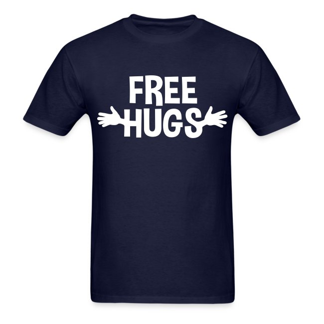 e1468e83 FREE HUGS   Free hugs Hands Shirt - Mens T-Shirt