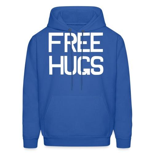Free hugs Hoodie - Guy - Men's Hoodie