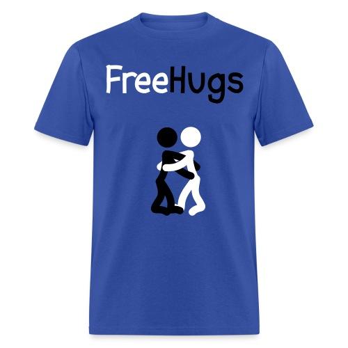 Free hugs stick figure Shirt - Men's T-Shirt