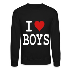I heart Boys - Crewneck Sweatshirt