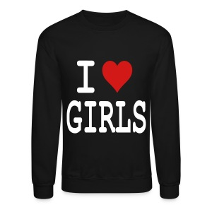 I heart Girls - Crewneck Sweatshirt