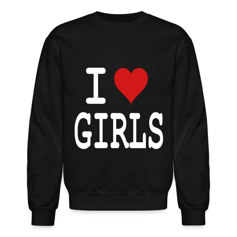 I heart Girls - Crewneck Sweatshirt