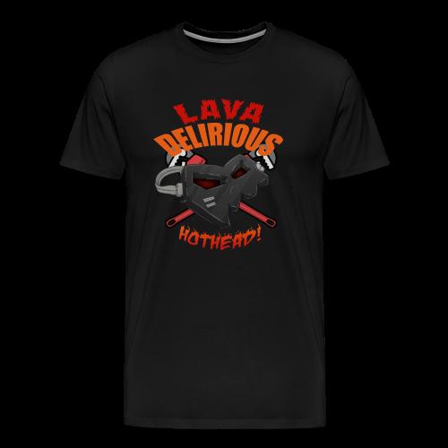 Premium Men's Hotheadedness Tee - Men's Premium T-Shirt