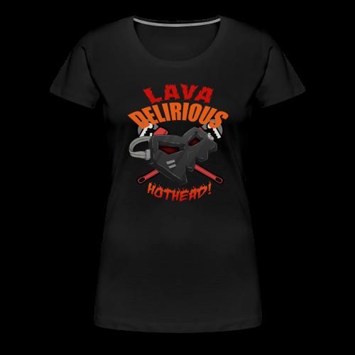 Premium Women's Hotheadedness Tee - Women's Premium T-Shirt