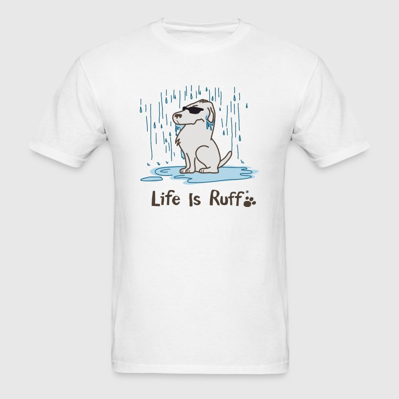 Rain Dog - Men's T-Shirt