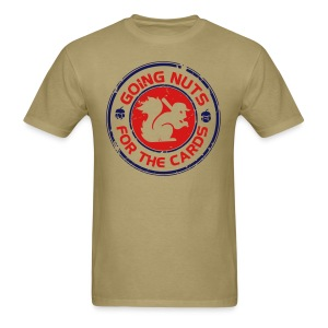Going Nuts Cardinal Rally Squirrel Shirt - vintage - Men's T-Shirt