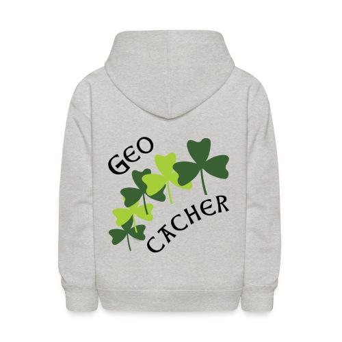 Geocacher Shamrocks - Kids' Hoodie