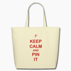 Keep Calm & Pin it Tote