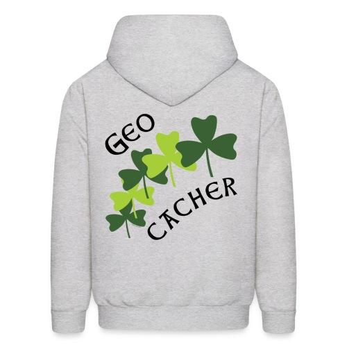 Geocacher Shamrocks - Men's Hoodie
