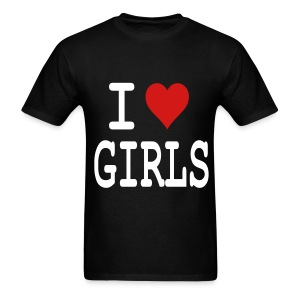 I heart Girls - Men's T-Shirt