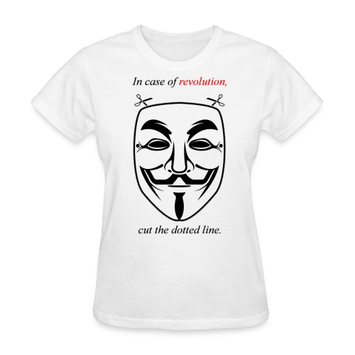 Women's In Case of Revolution Tee - Women's T-Shirt