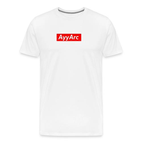 AyyArc BOGO Tee (WHITE) - Men's Premium T-Shirt