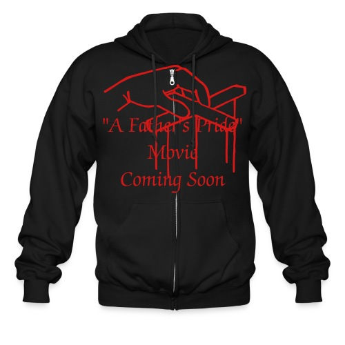 A Father's Pride Support Tee - Men's Zip Hoodie