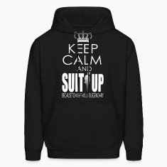 KEEP CALM AND SUIT UP Hoodies
